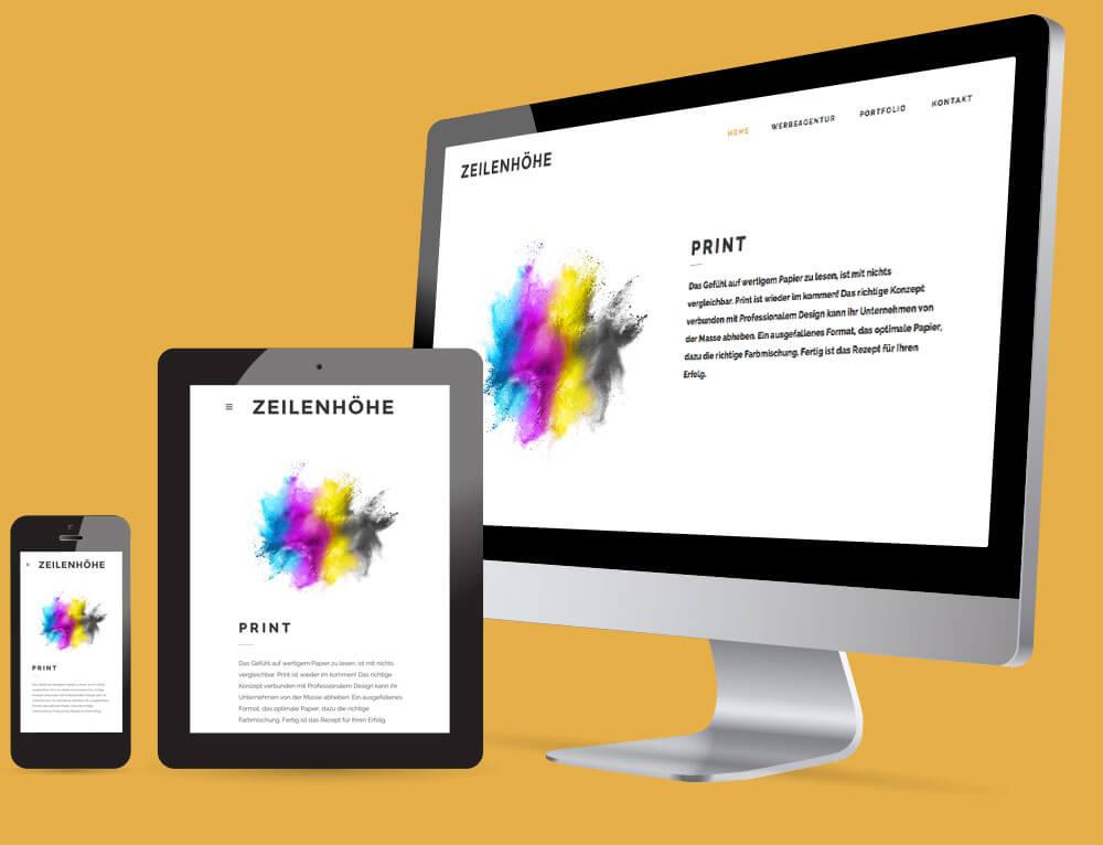 Werbeagentur Berlin - Druckprodukte und Websites