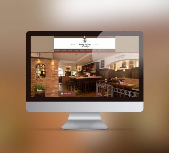 werbeagentur berlin digital webseite Brauerei Gasthaus Lohhof