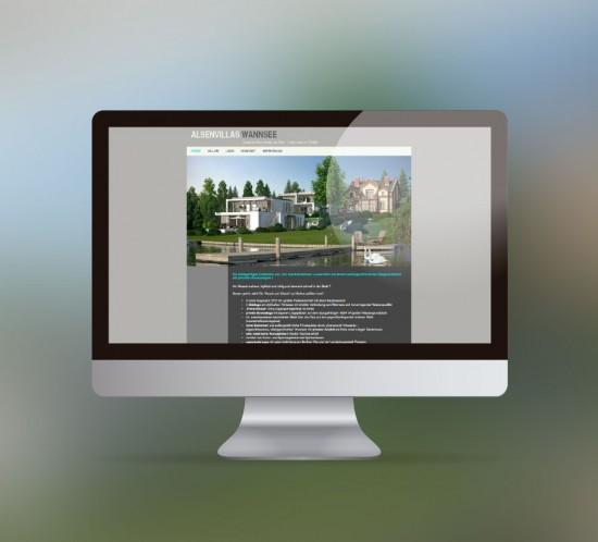 werbeagentur berlin digital webseite alsen villas wannsee