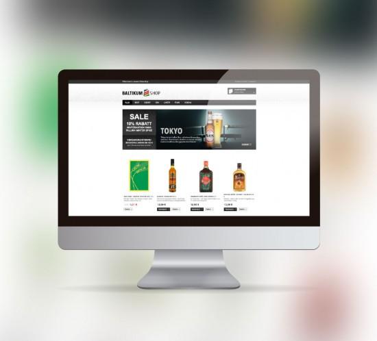werbeagentur berlin digital webseite baltikum shop