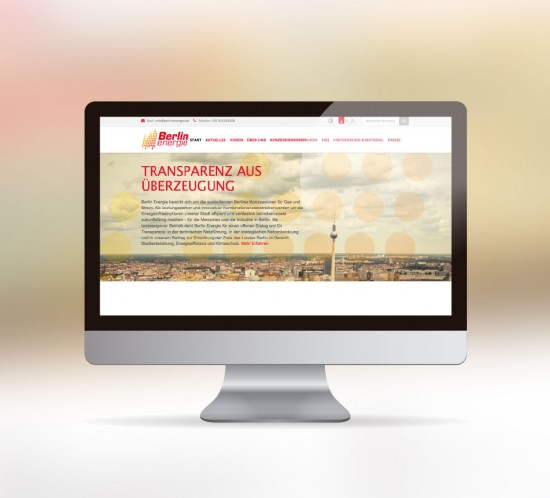 werbeagentur berlin digital webseite berlin energie