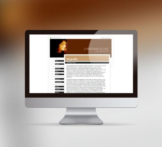 werbeagentur berlin digital webseite christiane klonz