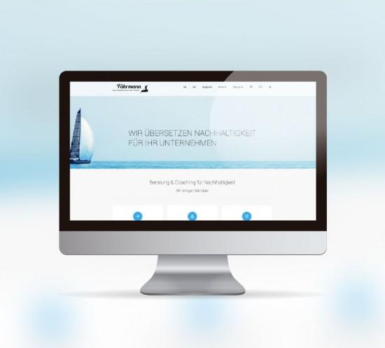werbeagentur berlin digital webseite faehrmannschaft