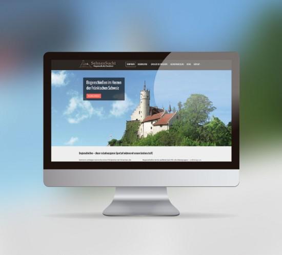 werbeagentur berlin digital webseite sehnensucht