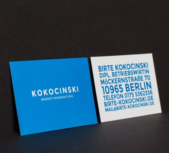 Druckprodukt der Werbeagentur Berlin.