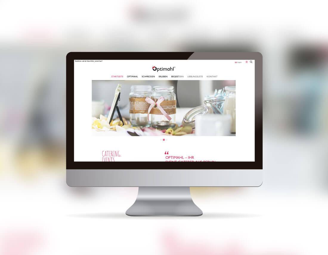 Relaunch der Website Optimahl.de